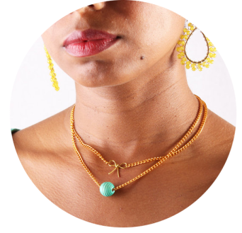 Necklace Jewelry Layering Gold Chains