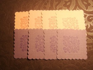 Pink and Purple Decorative Stickers
