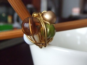 Earthly Friend Ring