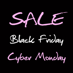 Black Friday Cyber Monday at The Pink Locket on Etsy