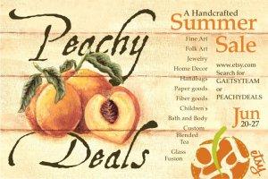 Summer Sale Peachy Deals