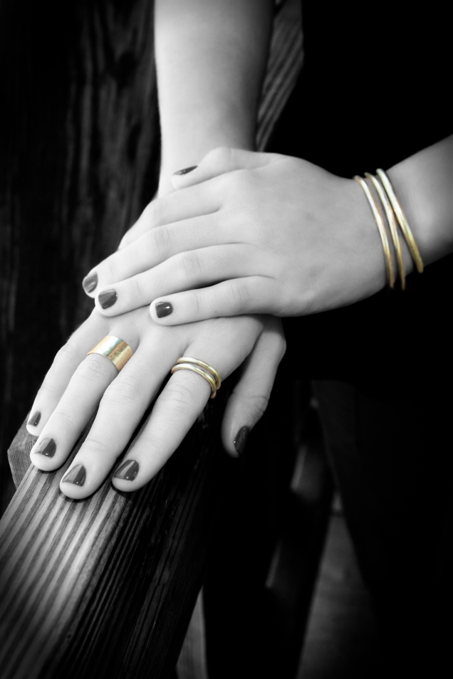 Brooklyn - Gold Wrap Statement Ring a