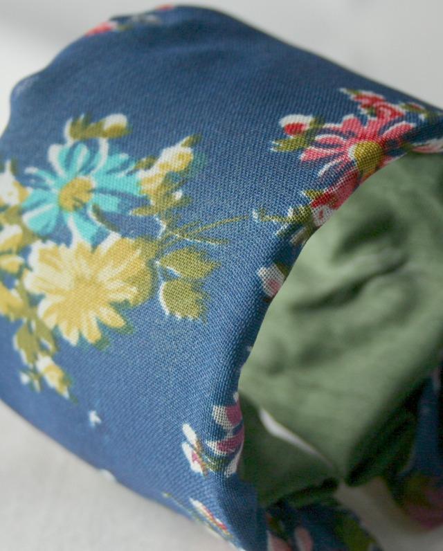 Floral Fabric Cuff