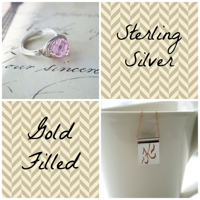 Sterling Silver and Gold Filled