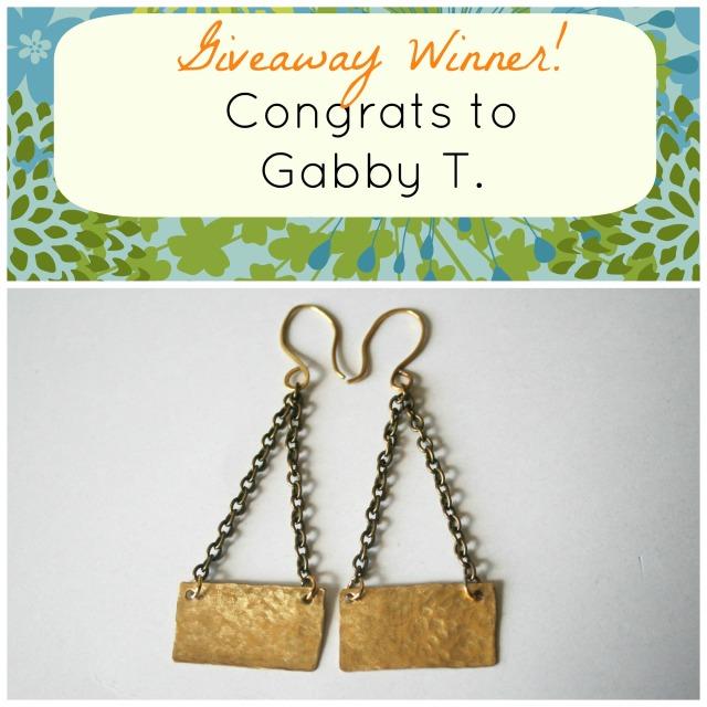 April_Giveaway Winner