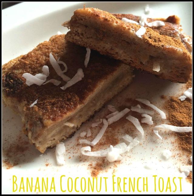 Banana Coconut French Toast 1