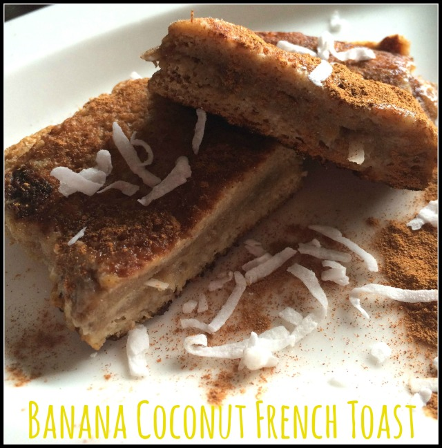 Banana Coconut French Toast 1