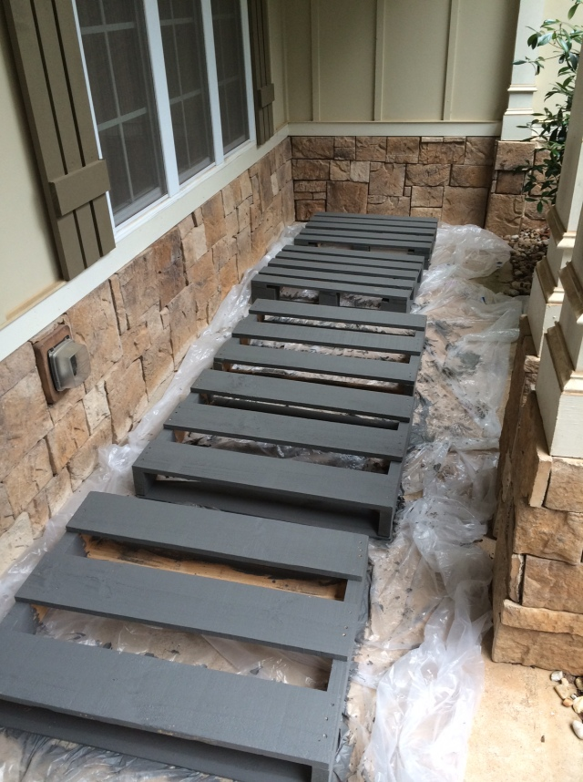 Painted Pallets Color Pewter