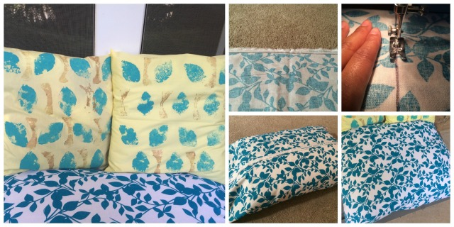 DIY Patio Pillows for Outdoors