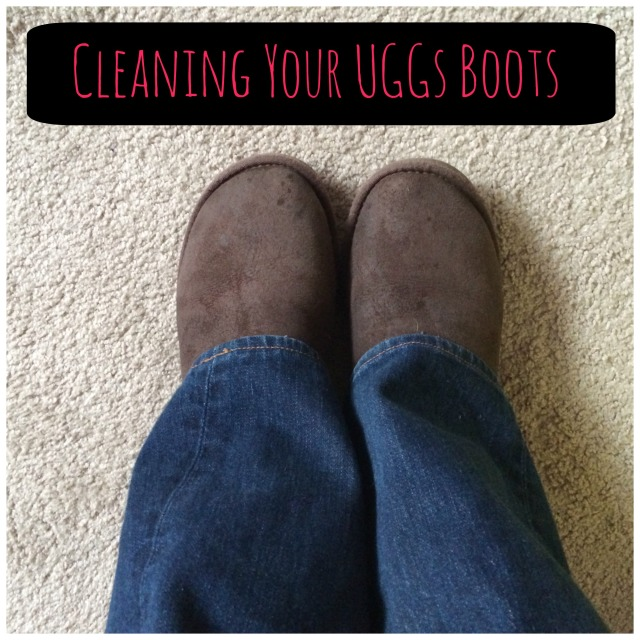 Cleaning you Uggs - DIY