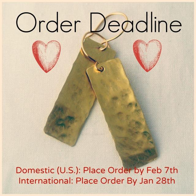 Valentine's Day Holiday Deadline