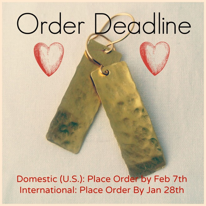 Valentine's Day Holiday Deadline