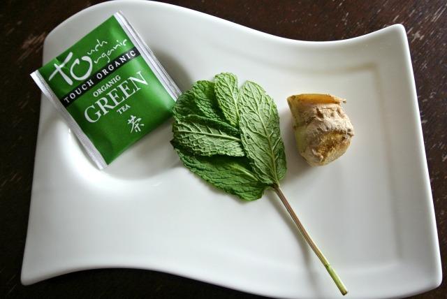 Green Mint Ginger Tea
