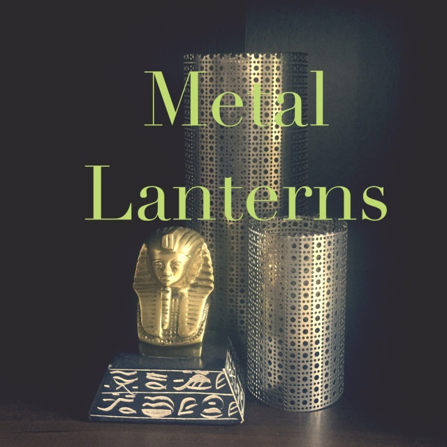 Metal Lanterns DIY