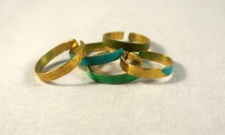Gold Stacking Rings 2