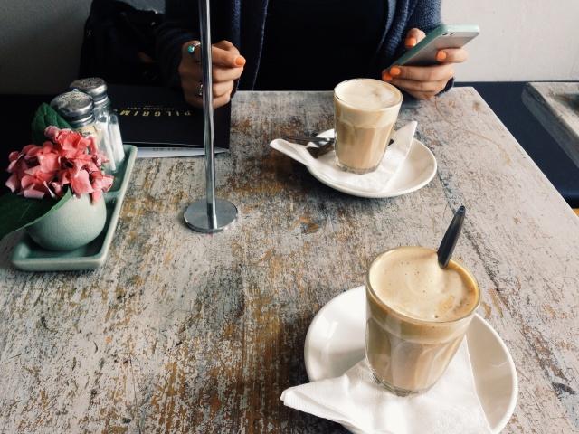 grab coffee