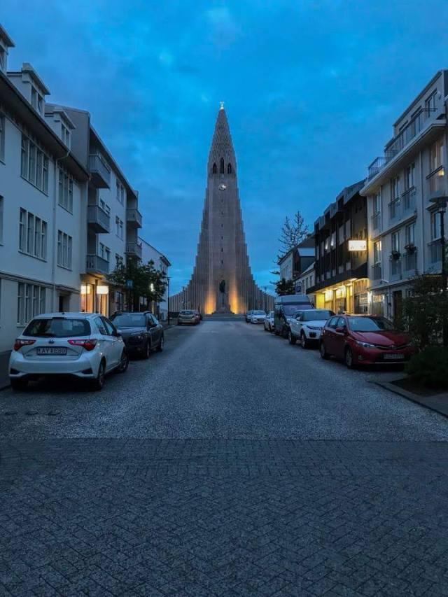 Halligrimskirkja church Reykjavik Iceland